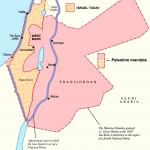 Palestine Mandate and Israel today